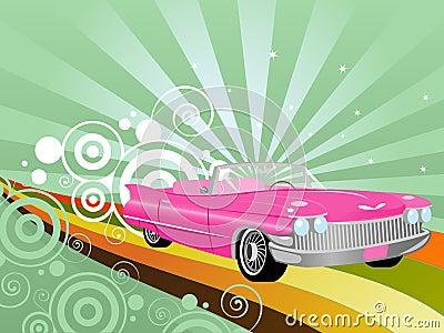 Retro- Kabriolett