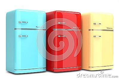 retro k hlschr nke lizenzfreie stockbilder bild 38129359. Black Bedroom Furniture Sets. Home Design Ideas