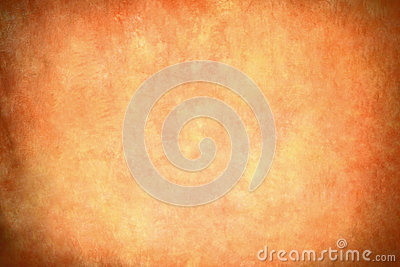 Retro light orange vignette background