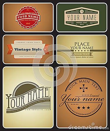 Retro Logos