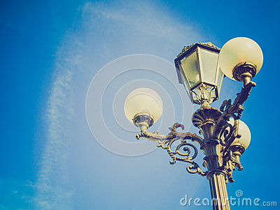 Retro look Street lights