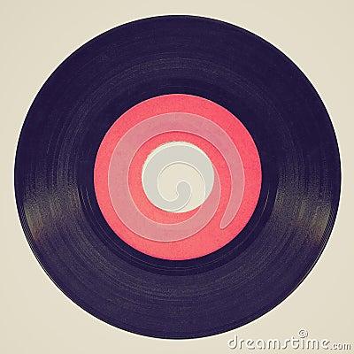 Free Retro Look Vinyl Record Stock Photography - 39146872