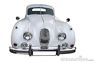Retro luxury saloon car