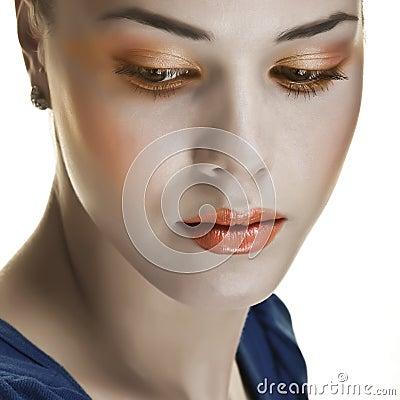 Retro makeup