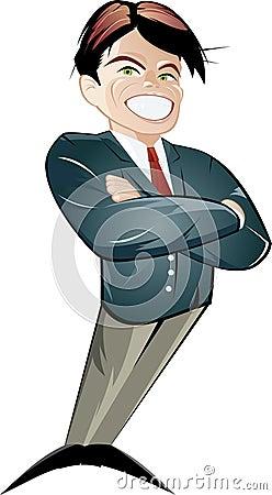 Retro mannelijke illustratie