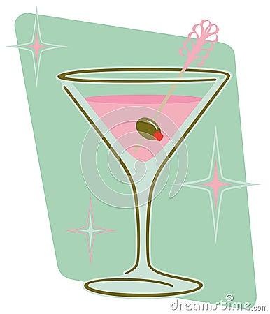 Retro Martini