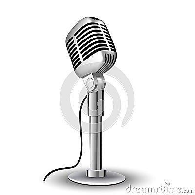 Retro mic