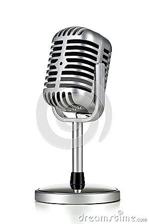 Free Retro Microphone Royalty Free Stock Photos - 31315218