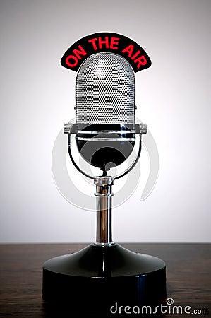 Free Retro Microphone Royalty Free Stock Photos - 4335738