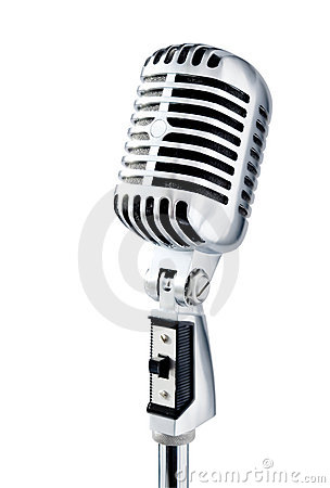 Free Retro Microphone Royalty Free Stock Photography - 862577