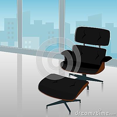 Retro-modern Chair City View