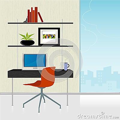 Free Retro-Modern Home Office Stock Photos - 3056803