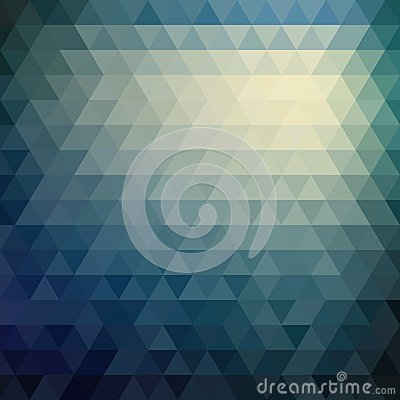 Free Retro Mosaic Pattern Of Geometric Triangle Shapes Royalty Free Stock Photos - 39458388