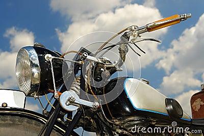 Retro motorbike