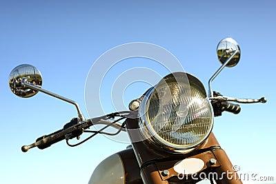 Retro motorbike handlebar