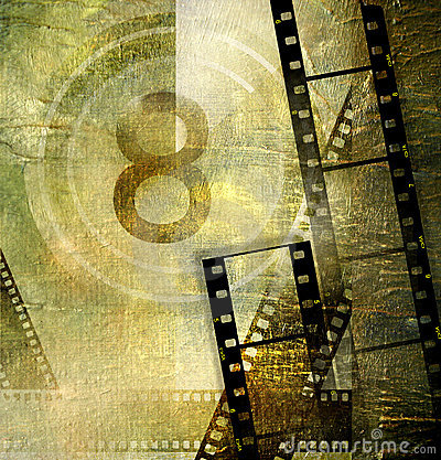 Free Retro Movie Royalty Free Stock Photo - 4863315