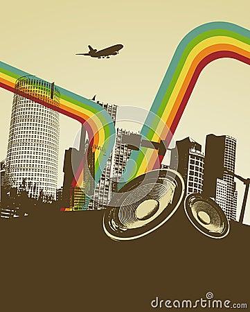 wallpaper retro music. RETRO MUSIC CITY (click image