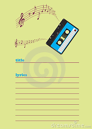 Retro notepaper