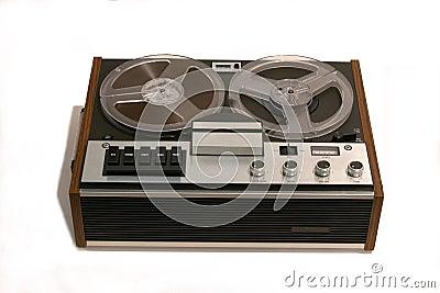 Retro Open reel tape recorder