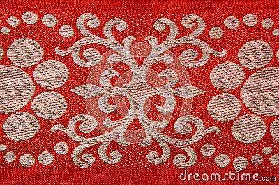 Retro and ornamental tablecloth