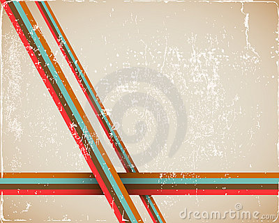Retro Page Background in brown