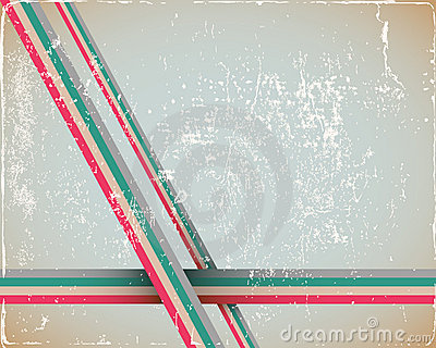 Retro Page Background in cyan