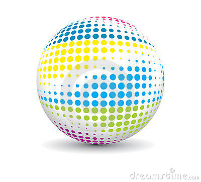 Retro party ball