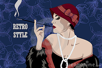 Retro party invitation design. Vector illustration
