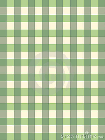 Retro pattern with green