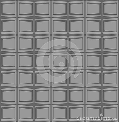 Retro pattern with squares