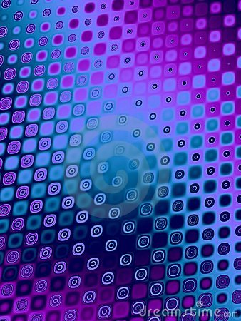 Retro Patterns - Blue Purple Stock Image - Image: 2049541