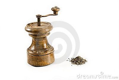 Retro Pepper-grinder