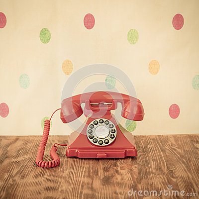 Free Retro Phone Stock Photography - 60394032