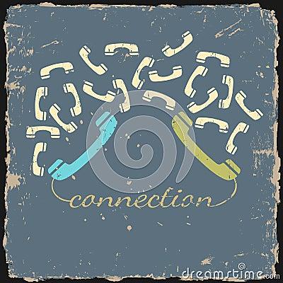 Retro phone connection