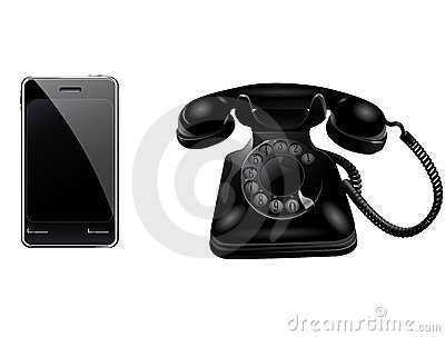 Retro phone and smart phone