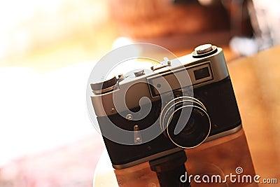 Retro of a photo camera