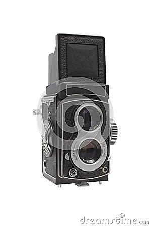 Retro photo TLR camera