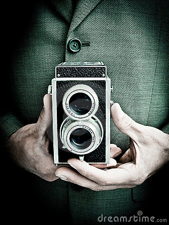 Free Retro Photographer Stock Image - 20888241