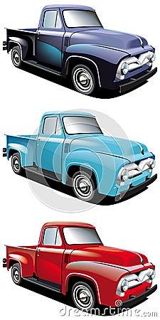 Retro pickup styl