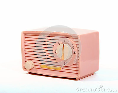 Retro Pink AM Radio