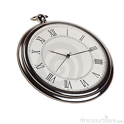 Retro pocket watch.