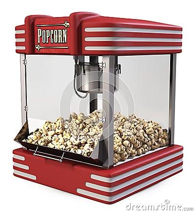 retro pop corn machine