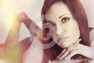 Retro portrait