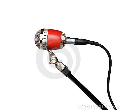 Retro professional microphone