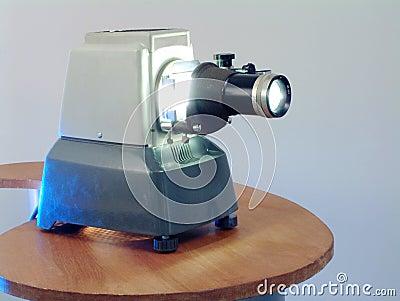 Retro projector