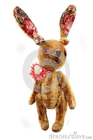 Free Retro Rabbit Toy Royalty Free Stock Photo - 17436665
