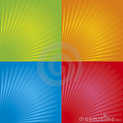 Free Retro Radial Background 03 Stock Images - 14537214