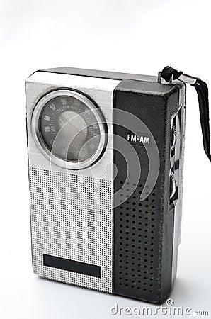Retro radio della casella