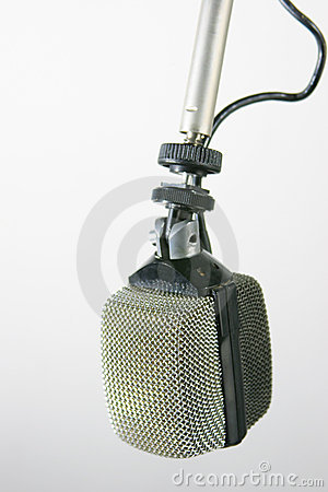 Retro Radio Microphone