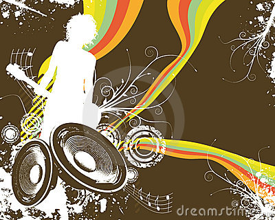 Retro Rainbow Speaker Band